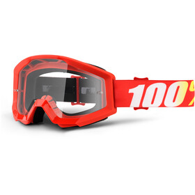 100% Strata Anti Fog Clear Goggles Jugend furnace